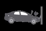 Motor vehicle accident icon